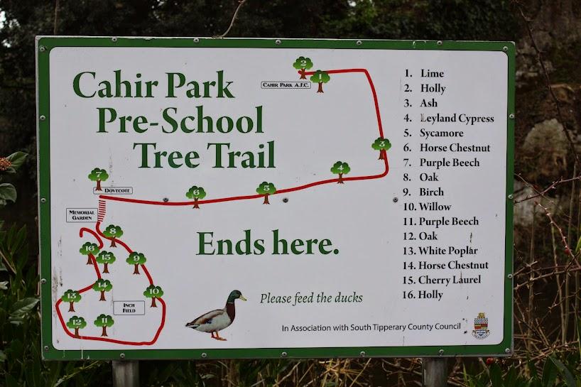Cahir Park trail