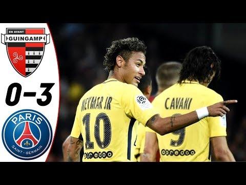 [Video] Guingamp vs PSG 0-3 – Highlight & Goal 13-08-2017