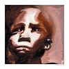 "Painting: ""APPREHENSION"" by very talented American-born artist and graphic designer Rob Rooker who currently lives in Nairobi, Kenya with his Sudanese-born wife and children. Painted on a wall in Maridi, a town in south-western Sudan. The image is of a young Nuer boy looking up among a crowd of people. Cards and prints of some of Rob's paintings are available online at imagekind:  GALLERY: http://www.imagekind.com/GalleryProfile.aspx?gid=f99383df-869b-4c3c-8863-599376c0f0ce - - - PROFILE: http://www.imagekind.com/MemberProfile.aspx?MID=5893427e-353d-4539-879b-4e733b4e3b24 - - -  WEBSITE: www.robrooker.com  - - - Image posted via Picasa to the sidebar of Sudan Watch on 14 December 2010: http://sudanwatch.blogspot.com"