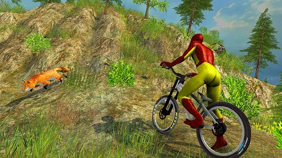 Offroad Monster Superhero BMX Bicycle Stunts Rider - náhled