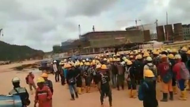 Pekerja Lokal PT di Bintan Protes karena Ada TKA China yang Diduga Corona