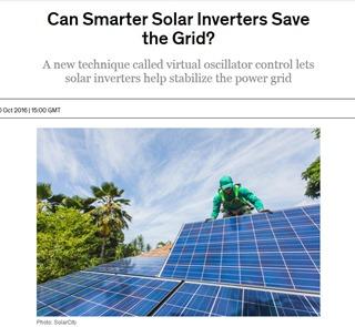 Smarter solar