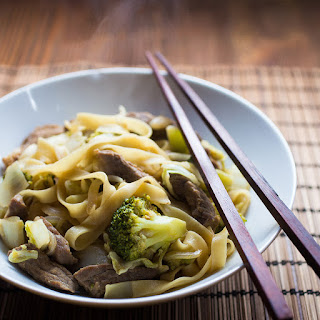 Asian Pork 'n' Beef Noodles