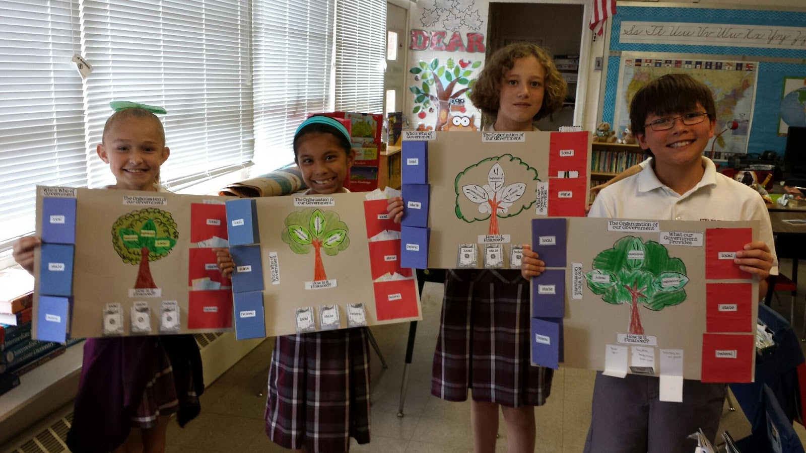 Mrs Balog S Fourth Grade Class Branches Of Government Project