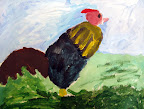 Rooster by Claire