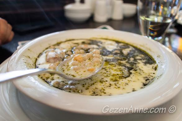 Aşina restoran'da yediğimiz yuvalama, Gaziantep