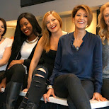 the gorgeous staff of my favorite hair studio: evolve salon in Toronto in Toronto, Ontario, Canada