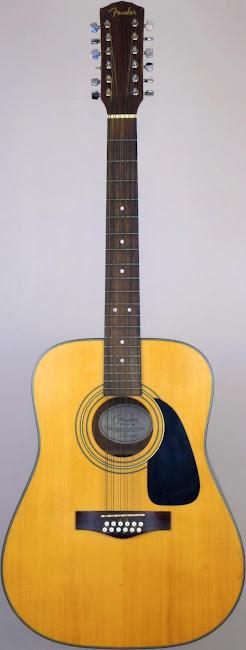 Fender DG10 12 string dreadouught acoustic Guitar at Ukulele Corner