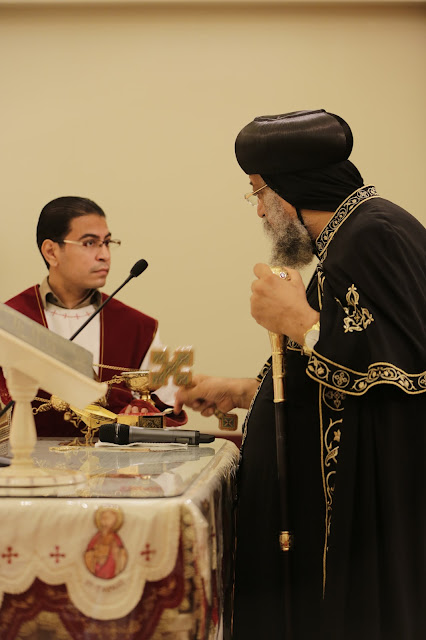 His Holiness Pope Tawadros II visit to St. Mark LA - _09A9143.JPG