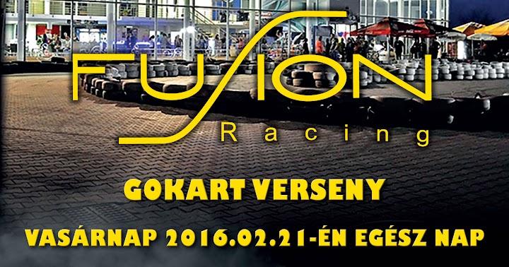 Fusion Racing gokart verseny 2016 február Kaposvár