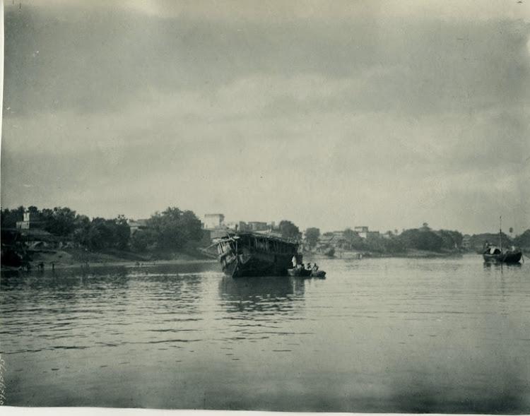 Wooden Passenger Boat