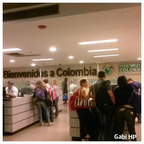 Devaneios de Biela aeroporto Bogotá