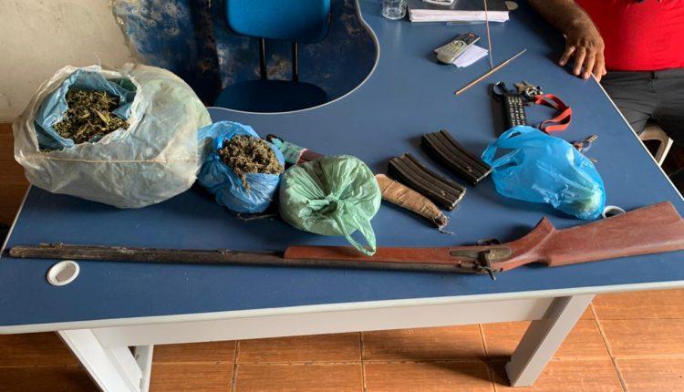 POLICIAIS MILITARES DO 15º BPM APREENDEM PLANTAÇÃO DE MACONHA NO MUNICÍPIO DE CONCEIÇÃO DO LAGO AÇU