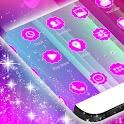 粉红色泡沫GO主题 icon