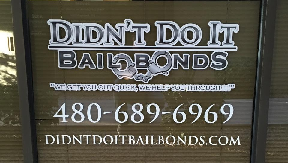 Didn't Do It Bail Bonds - Mesa Bail Bonds & Bail Bonding