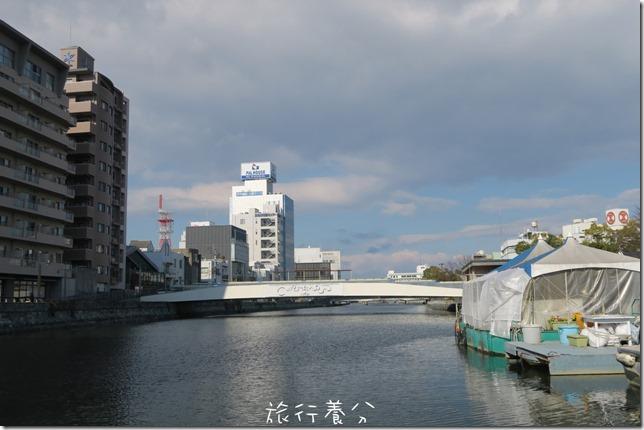 四國德島 葫蘆島周遊船 新町川水際公園 (10)