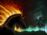 Unicorn Of Fire