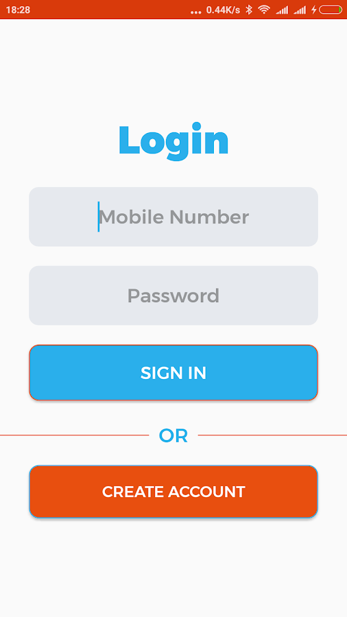 Mobile and SMS Banking- screenshot