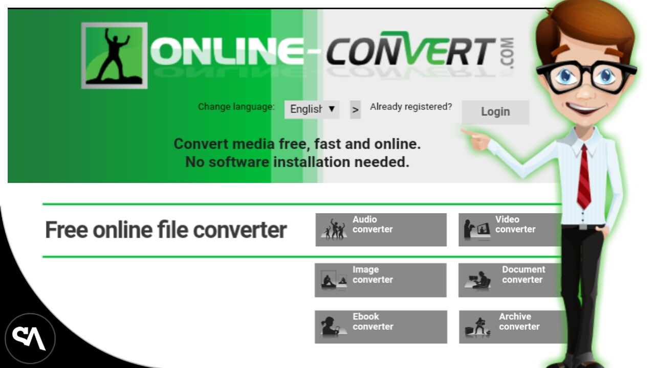 Convert any file to any format ~ daMAAli