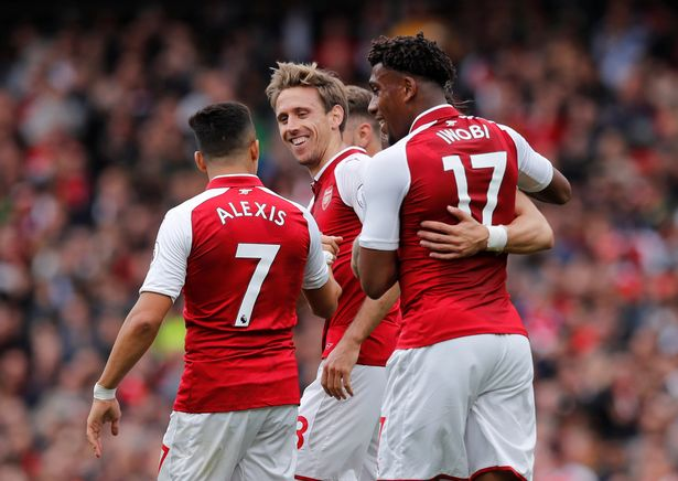 Arsenal vs Brighton: Iwobi dedicates goal to Nigeria's Independence Day