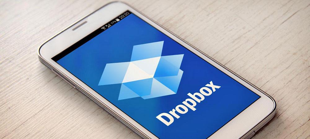 Apps de viagem dropbox