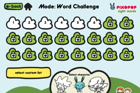 Sight Words & Spelling With Pixopop List Clouds