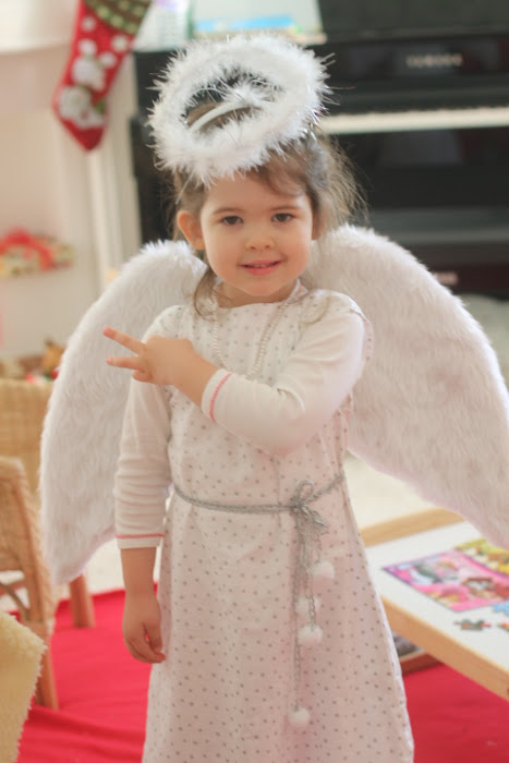 Angel costume children, Montessori costume,
