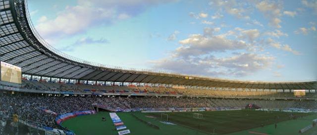 味の素スタジアムパノラマ写真