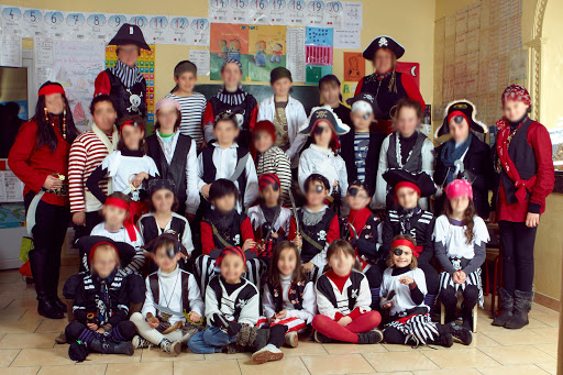 Groupe Ecole primaire pirate
