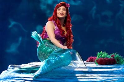 Auli'i Carvalho as Ariel