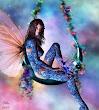 Fairy Rainbow And Light