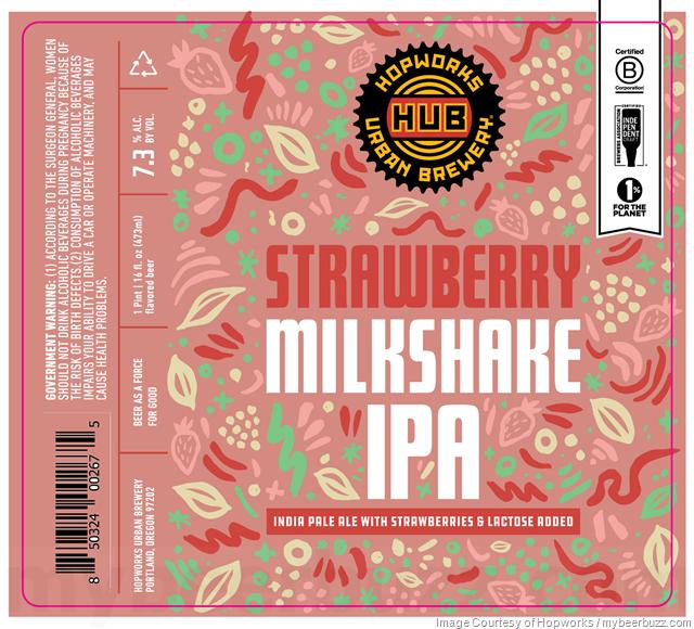 Hopworks Working On Strawberry Milkshake IPA Cans