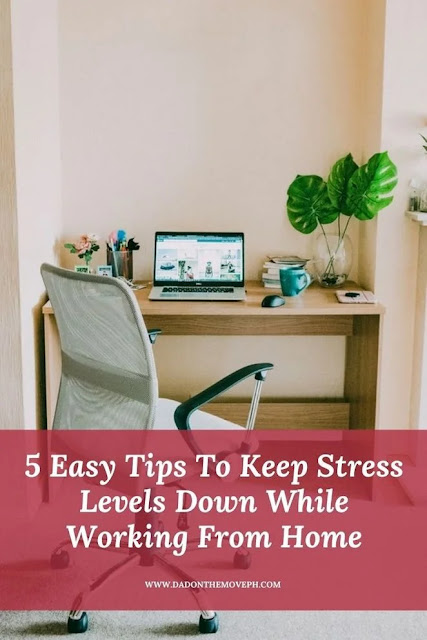 Tips to reduce work from home stress