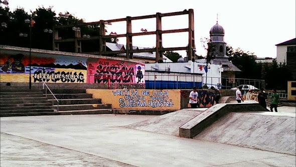 PSD campanie electorală skatepark - Vreţi să ne luăm oraşul înapoi? Suceava Noastră