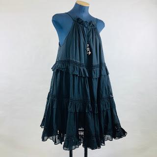 Zimmermann Eyelet Trapeze Dress