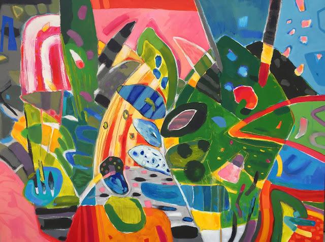 loomingdales presents Artist Victor Bokas in 'Bokaslicious'