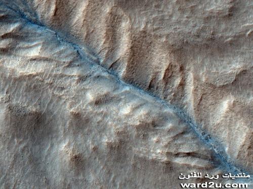 التشابه بين الصحراء الغربية و المريخ