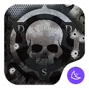War Gun Steel Skeleton-APUS Launcher stylish theme