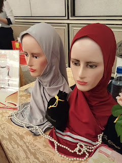 Sports hijabs from Juz Demure.