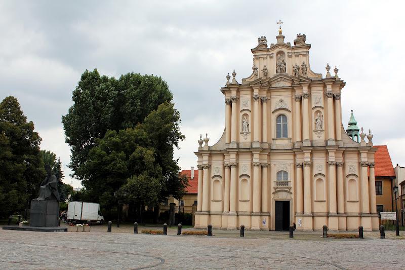 Fachada de la Iglesia Visitacionista