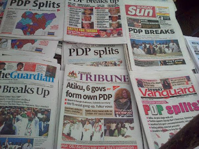Latest Nigeria Newspapers Headlines for Today, April 21, 2017