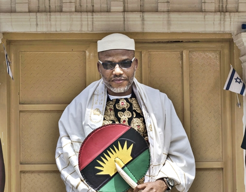 IPOB: Nnamdi Kanu Gives Up On Violent Struggle For Biafra; Begs Buhari For Dialogue