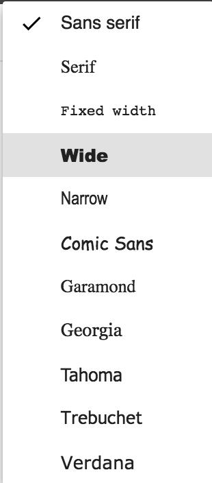 Font Style updates Inbox - Inbox by Gmail Помоћ