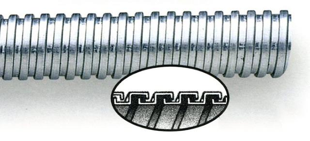 Cấu trúc của ống ruột gà lõi thép