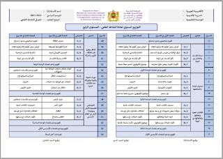 توزيع سنوي: المنير في النشاط العلمي المستوى الثالث 2021/2022