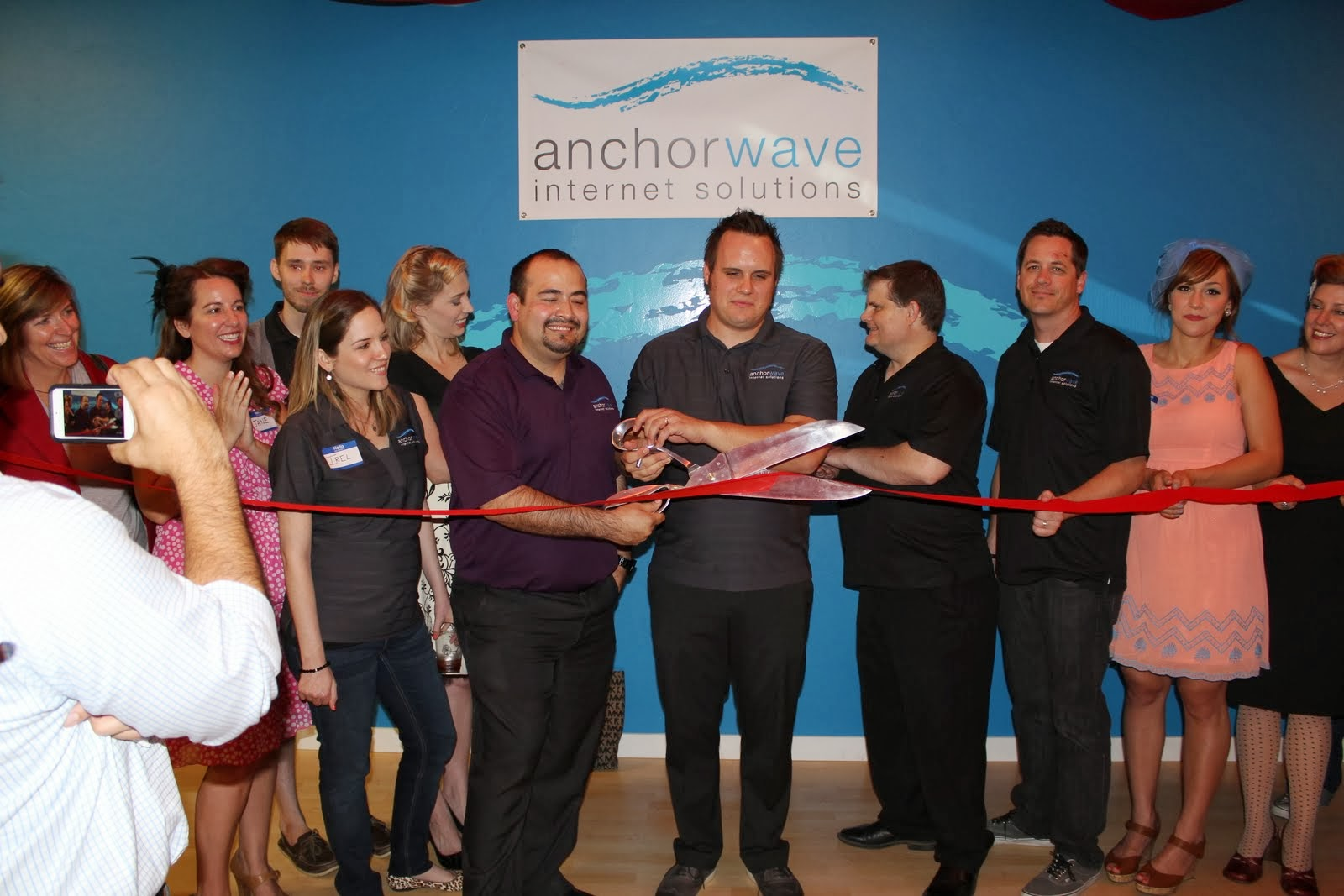 Anchor Wave Internet Solutions celebrated its 10th anniversary with clients and friends.  Since 2003, Anchor Wave has developed more than 740 websites for businesses and non-profit organizations in Southern Arizona and the US and offers custom web development, search engine optimization, pay-per-click advertising, and email and social media marketing services.