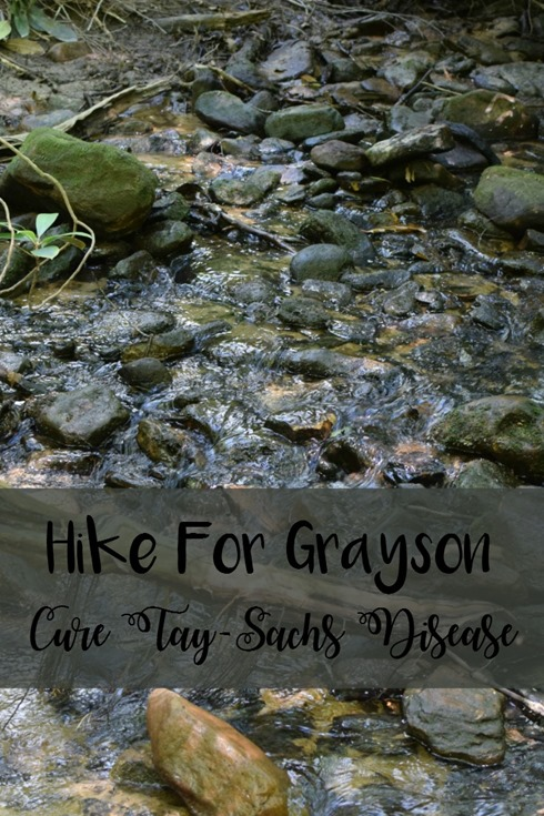 Hike For Grayson and Cure Tay-Sachs #hikeforgrayson