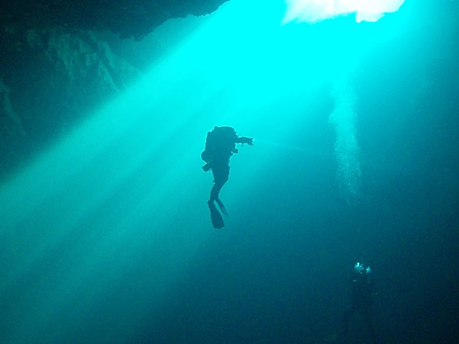 DivePro Cancun Diving: Cavern Diving