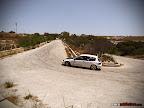White Honda Civic Hillclimb car