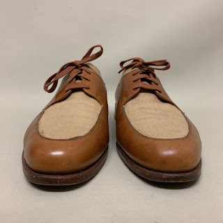 Polo British Made Two-Tone Oxfords
